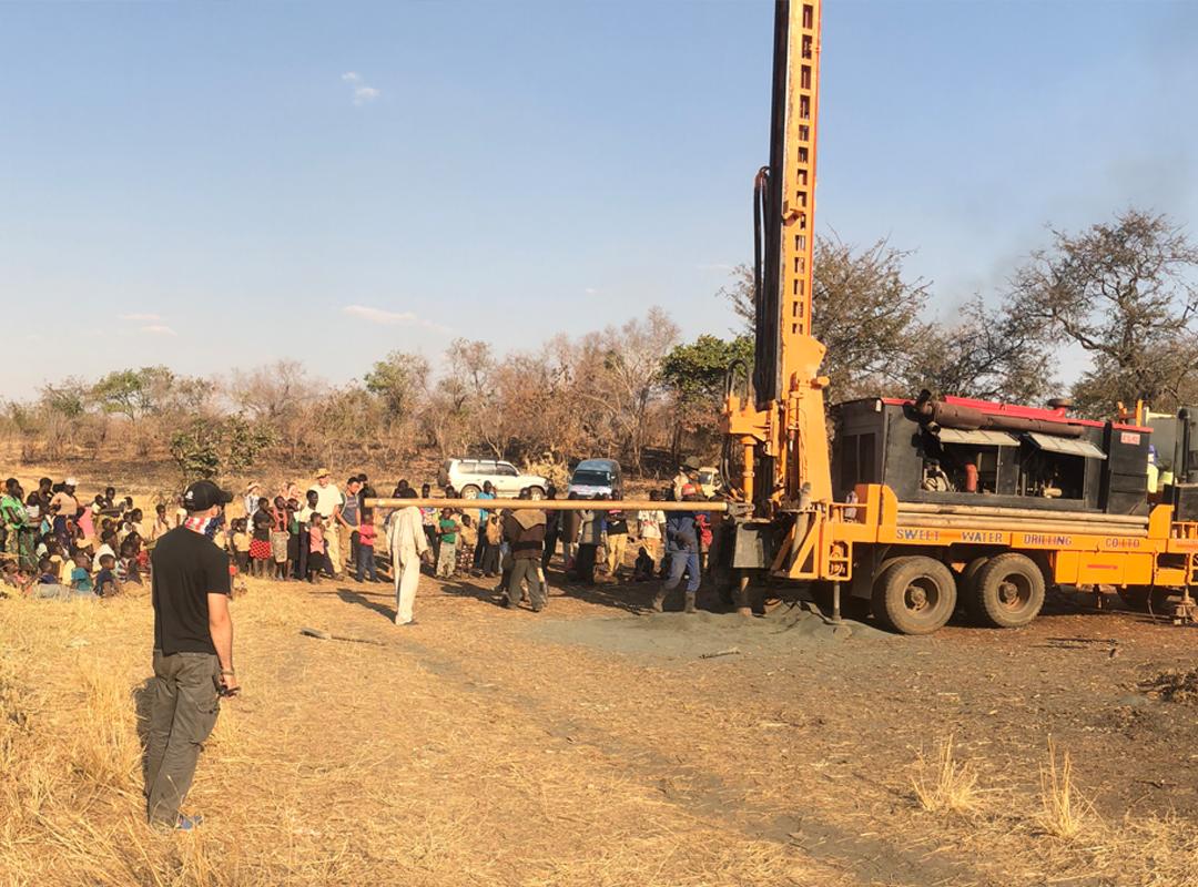 Well Drilling - Malavu Village