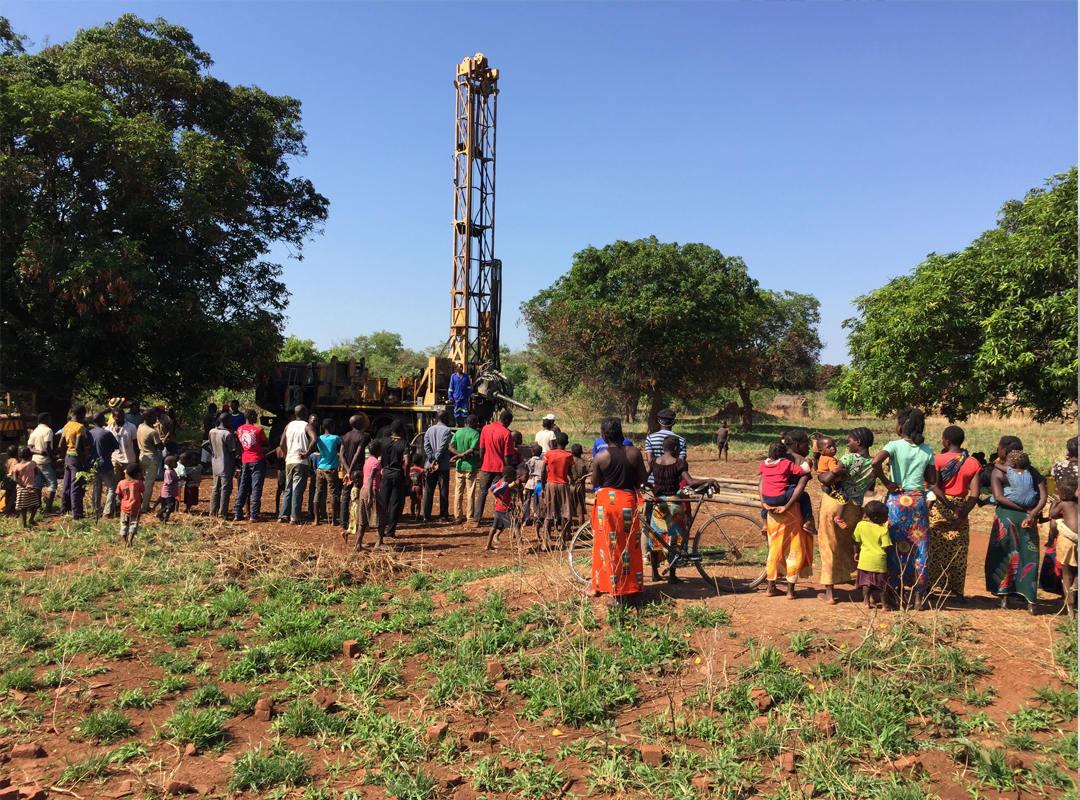 Well Drilling - Malonga Village