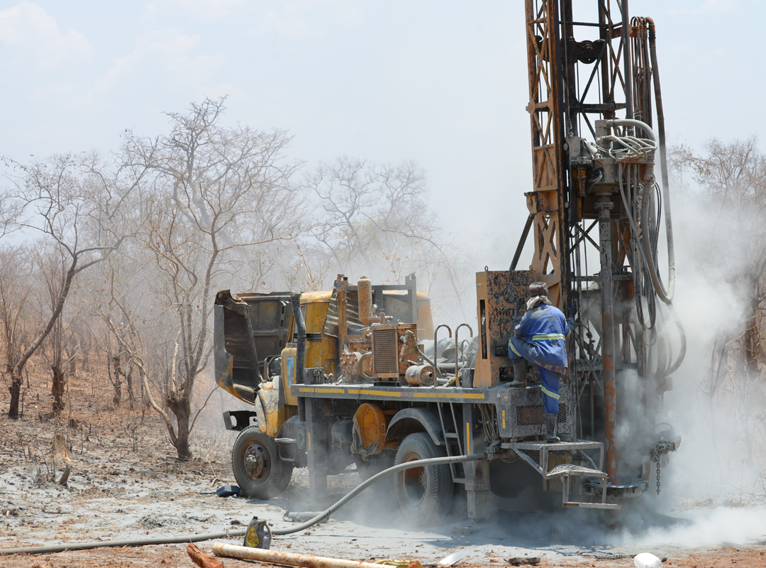 Well Drilling - Mbenjere Village